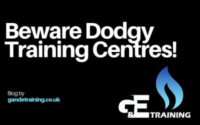 Beware Dodgy Training Centres!